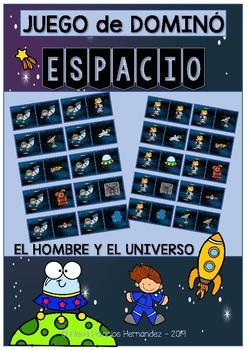 Dominó juego ESPACIO / Domino game SPACE