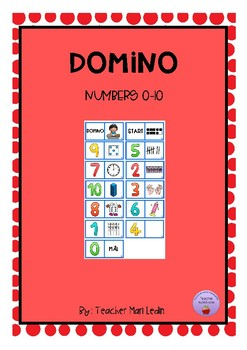 Domino numbers 0-10