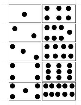 Domino numbers 1-10