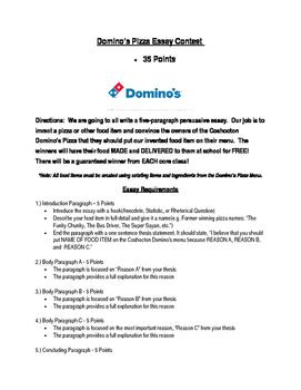 Domino's Pizza Essay