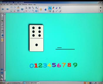Domino subtraction within 6