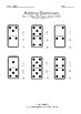Dominoes Adding Worksheet [FREE DIGITAL DOWNLOAD] W/ Answer Key