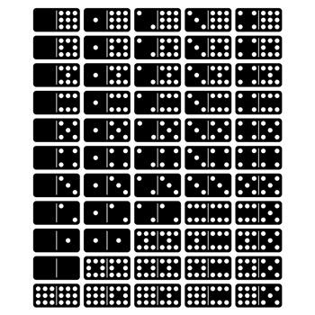Dominoes Clip Art