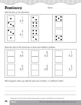 Dominoes (Commutative/Associative Properties)