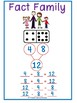 Dominoes Fact Families