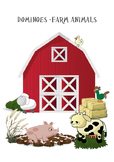 Dominoes - Farm Animals