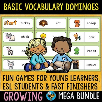 Early /Fast Finishers | Dominoes Games Growing Bundle