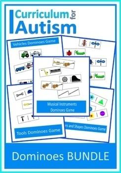 Turn Taking Social Skills Dominoes Games BUNDLE Autism Special Education