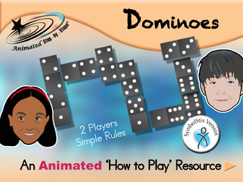 Dominoes - How to Play Resource - SymbolStix