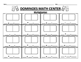Dominoes Math Center: Multiply + Add + Subtract