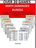 Dominoes Math Game Bundle