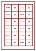Dominoes Mixed Times Tables Game