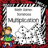 Dominoes: Multiplication Math Game}