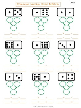 Dominoes Number Bonds