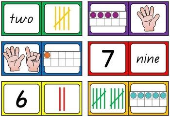Dominoes - Numbers to 10