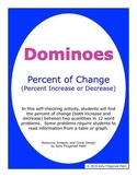 Dominoes - Percent of Change (Percent Increase or Decrease)