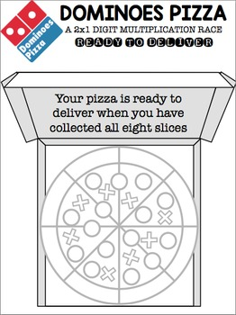 Dominoes Pizza - A Student Created 2x1 Digit Multiplication Game