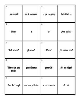Dominoes (Realidades 1 - 4A & 4B)