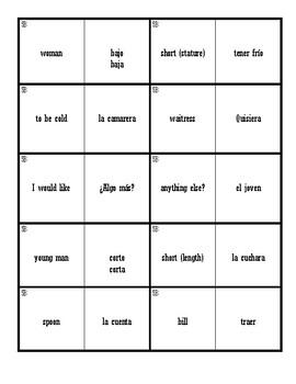 Dominoes (Realidades 1 - 5B)