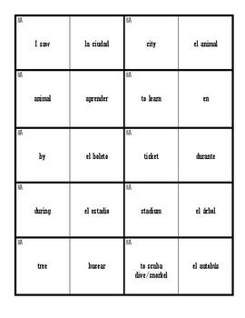 Dominoes (Realidades 1 - 8A)
