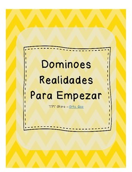 Dominoes (Realidades 1 - Para Empezar)