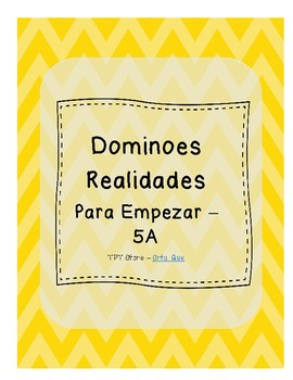 Dominoes (Realidades 1 - Para Empezar - 5A)