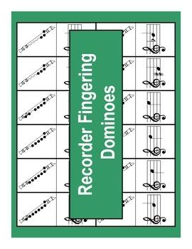 Dominoes - Recorder Fingerings
