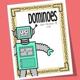 Robot Printable Domino Game
