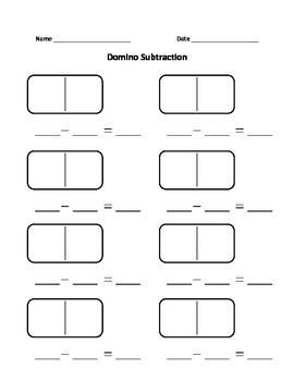 Domino Subtraction