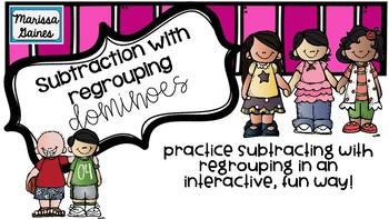 Dominoes Subtraction Practice