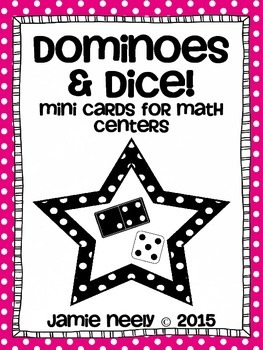 Dominoes and Dice Mini Cards