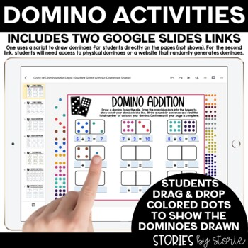 Dominoes for Days (Independent Domino Activities for Math Stations)