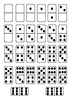 Dominoes for Domino Parking Game