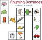 Dominoes with Rhyming Pictures
