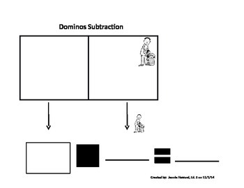 Dominos Addition and Subtraction Graphic Organizers
