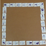 Fraction Dominoes - recognizing fractions from pictures