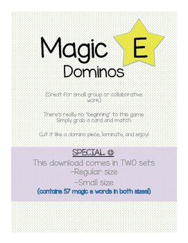 Dominos (Magic E)