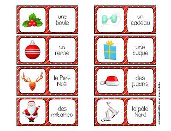Dominos de Noël (Christmas Dominos)