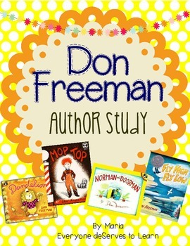 Don Freeman Author Study