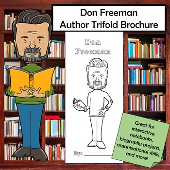 Don Freeman Biography Trifold Brochure