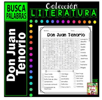 Don Juan Tenorio   -Word search