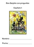 Don Quijote - Lectura I (vocabulary, predictions, comprehe