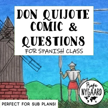 Don Quijote Comic & Questions (in Spanish)