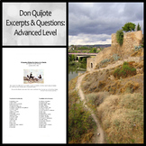 Don Quijote Excerpts and Questions (Advanced Level)