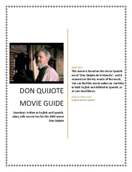 Don Quijote Movie Guide