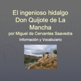 Don Quijote Spanish Culture and Vocabulary Powerpoint
