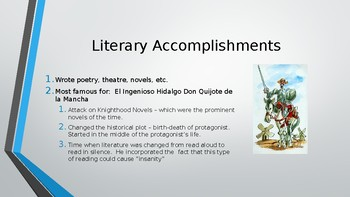 Don Quijote - Pre-Reading Guide (in English)