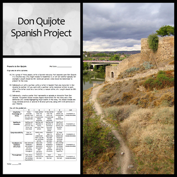 Don Quijote Project for Spanish Students