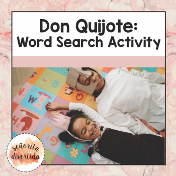 Don Quijote Word Search Activity