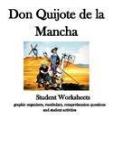 Don Quijote de La Mancha Student Activities Bundle